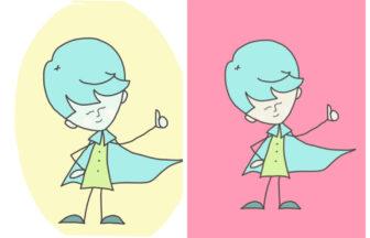 そよ風の仲間たちイメージキャラクター「そよ風くん」