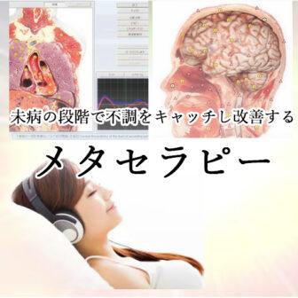未病の段階で不調をキャッチし改善する「メタセラピー」